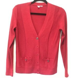 Halogen Sweater -Dark Red Size S.  Like New